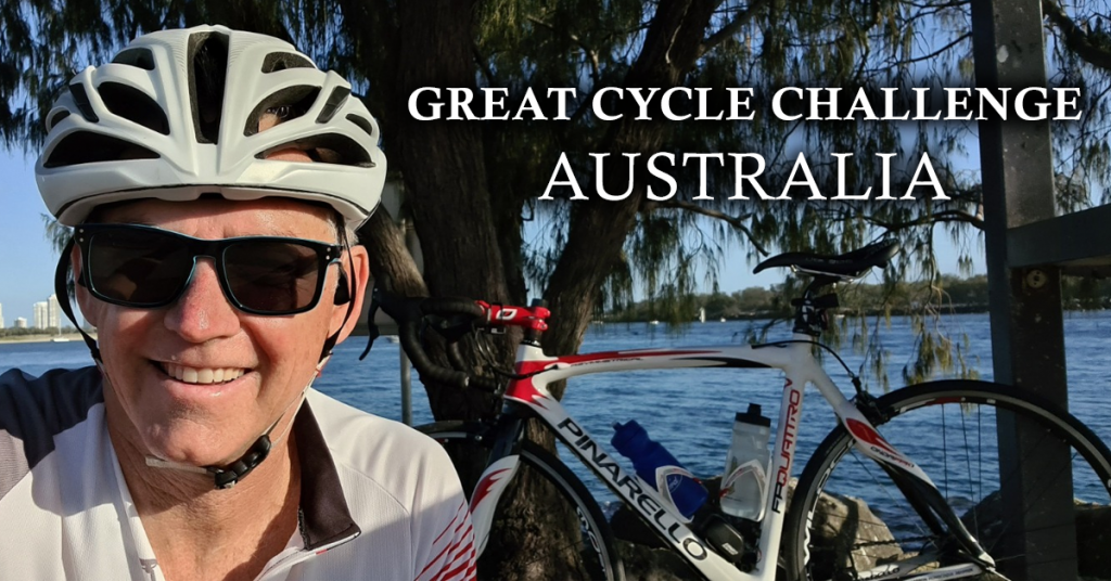 Gavin great cycle challenge australia planning plus software